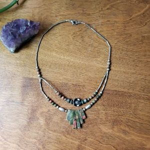 Jewelry - Earthy choker necklace
